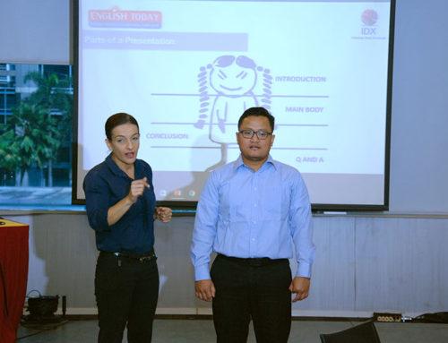 Training Bahasa Inggris Karyawan Makassar